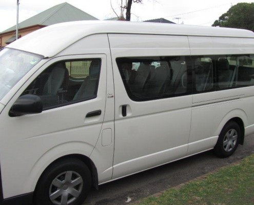 minibus hire Sydney